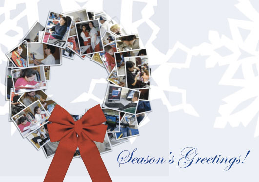 Holiday Card Collage