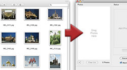 Add a photo album of pictures for the photo collage