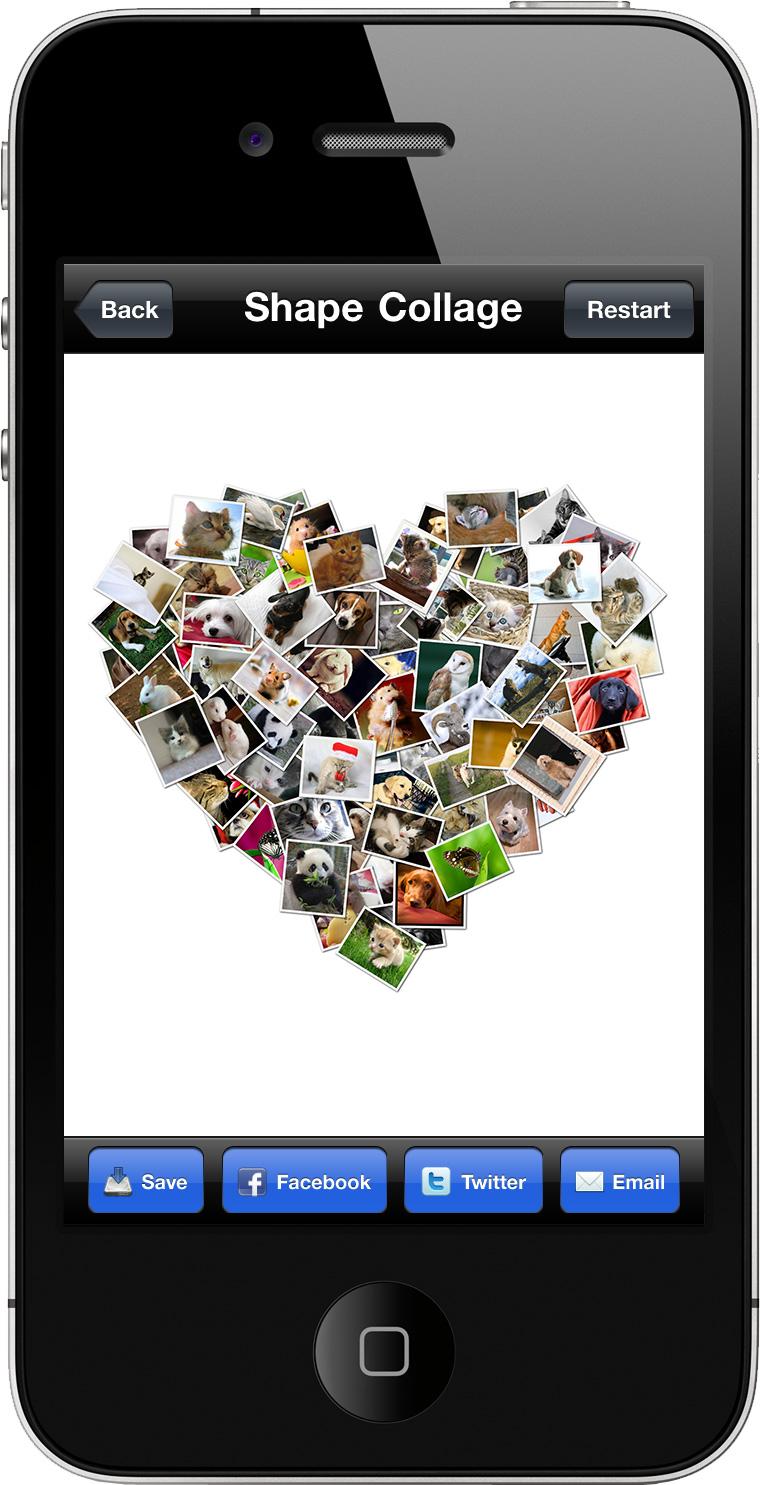 Как сделать из фотографий как на айфоне