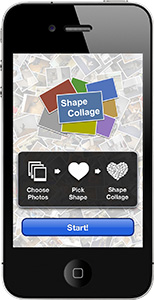 Shape Collage screenshot in iPhone and iPod Touch