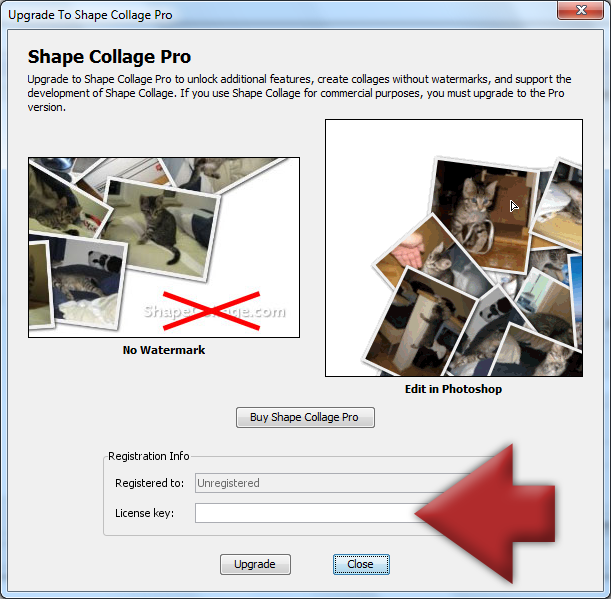 shape collage pro 31 license key free download