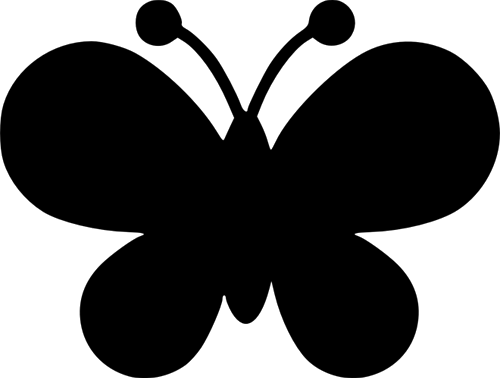 cute-butterflyshape