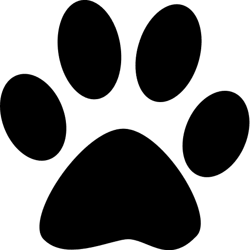 pawprint shape