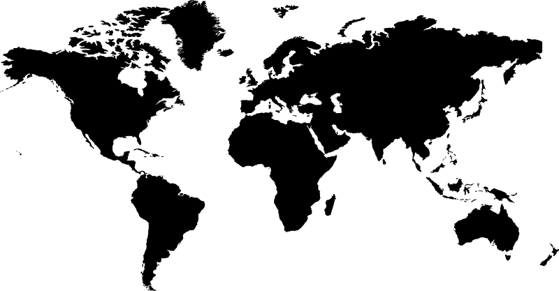 world shape